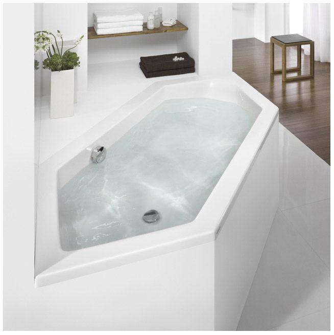 hoesch scelta sechseck badewanne berlauf rechts. Black Bedroom Furniture Sets. Home Design Ideas