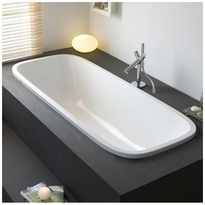 hoesch singlebath uno oval einbaubadewanne megabad. Black Bedroom Furniture Sets. Home Design Ideas
