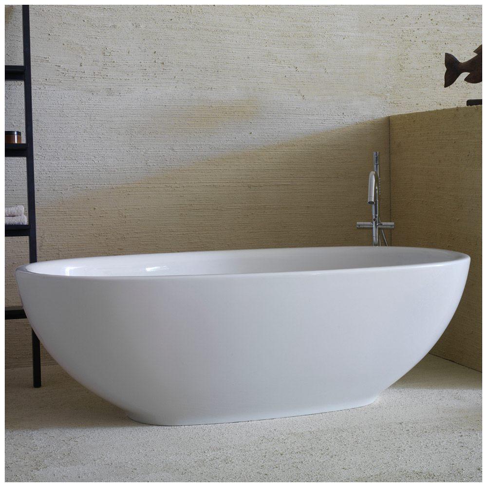 ceramica globo bowl freistehende badewanne vaboc1x megabad. Black Bedroom Furniture Sets. Home Design Ideas