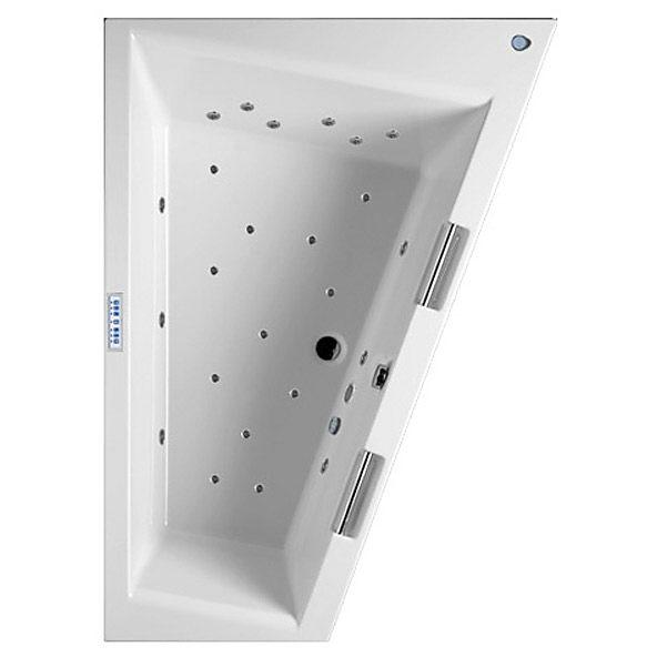 riho doppio raumspar whirlpool 180 x 30 cm pro links ba91p7 megabad. Black Bedroom Furniture Sets. Home Design Ideas