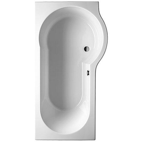 Riho Dorado Raumspar-Badewanne 170 x 75/90 cm links BA81 - MEGABAD | {Badewanne mit duschzone kaldewei 64}
