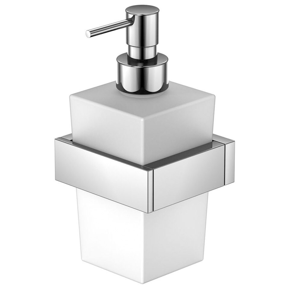 Hervorragend Steinberg Serie 460 Wand Seifenspender Glas weiß 460.8001 - MEGABAD WY81