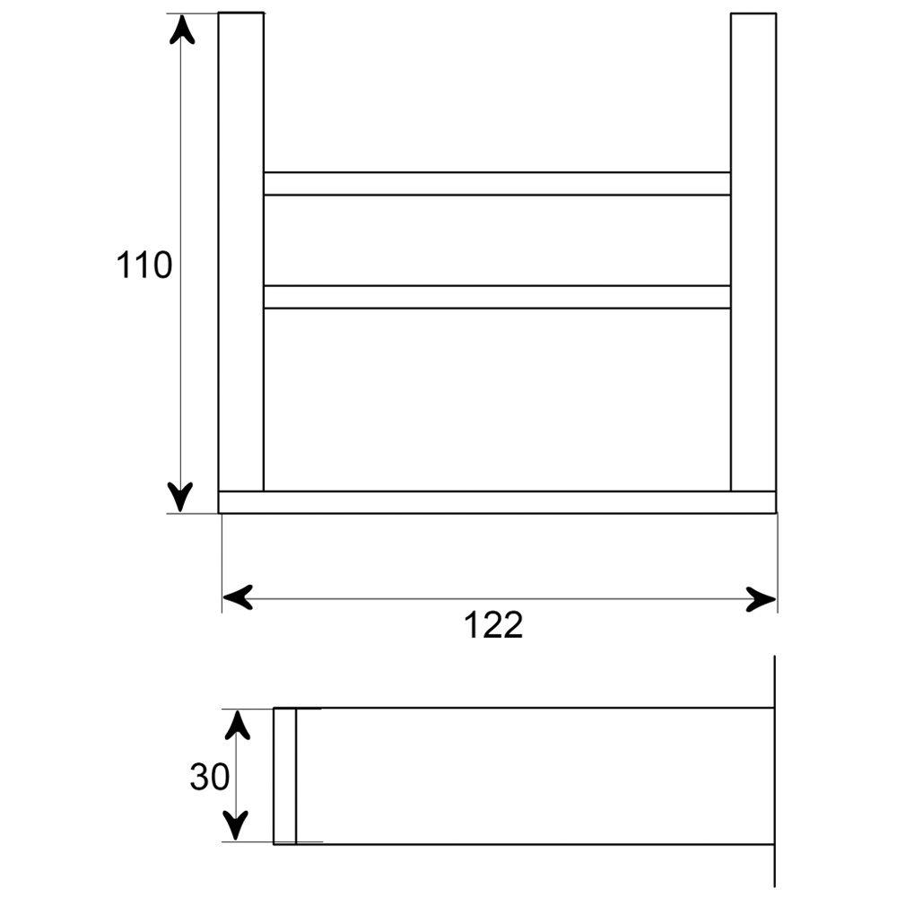 Steinberg serie 460 seifenhalter mit glas schwarz 4602202 for Steinberg bad accessoires