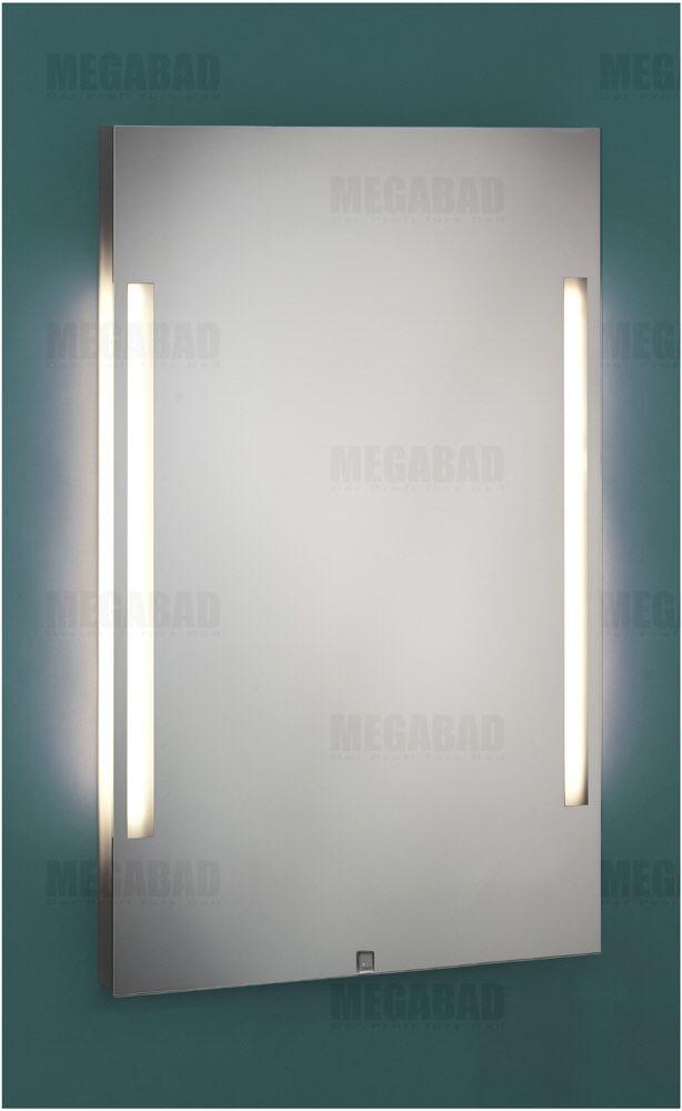 zierath palma led spiegel hinterleuchtet 50 x 80 cm palmaled5080 megabad. Black Bedroom Furniture Sets. Home Design Ideas