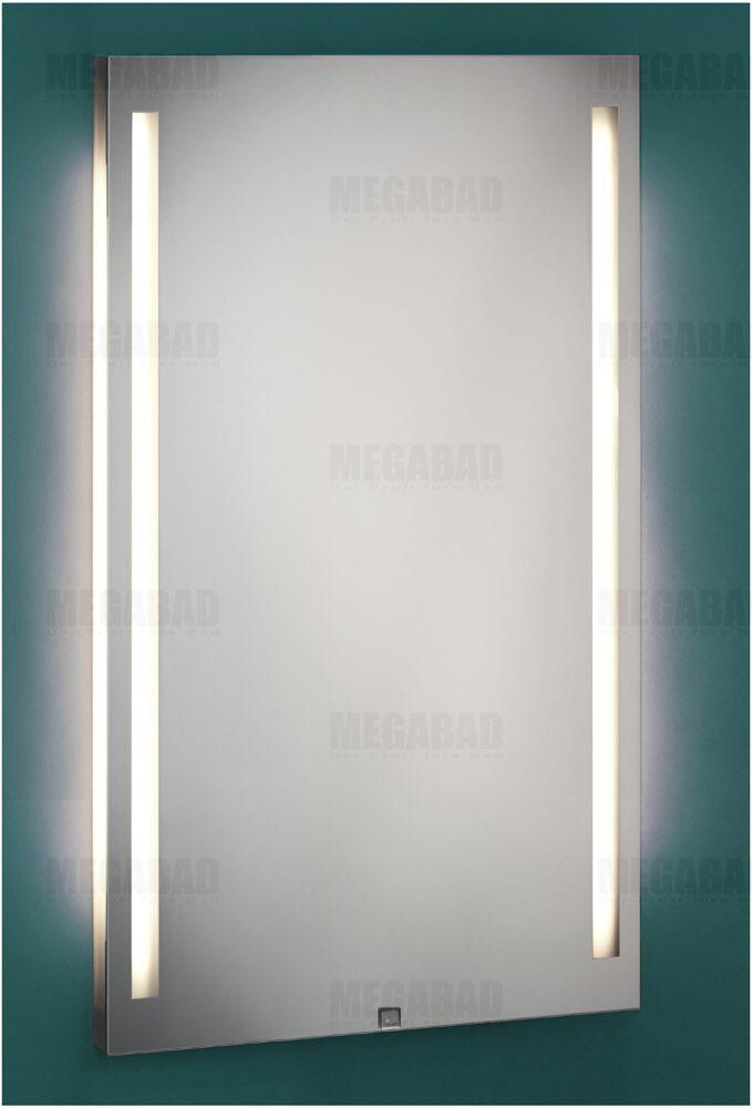 zierath palma led spiegel hinterleuchtet 50 x 90 cm palmaled5090 megabad. Black Bedroom Furniture Sets. Home Design Ideas