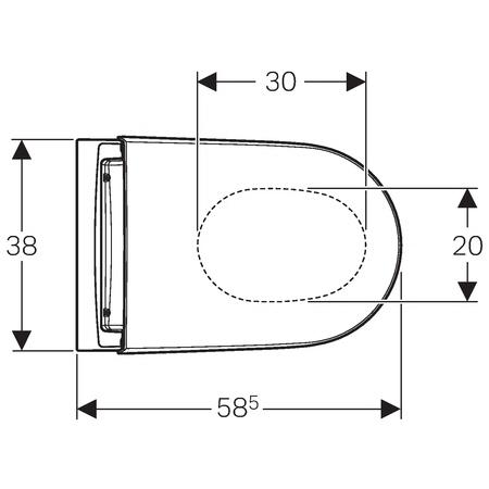 geberit aquaclean sela wc komplettanlage stand wc. Black Bedroom Furniture Sets. Home Design Ideas