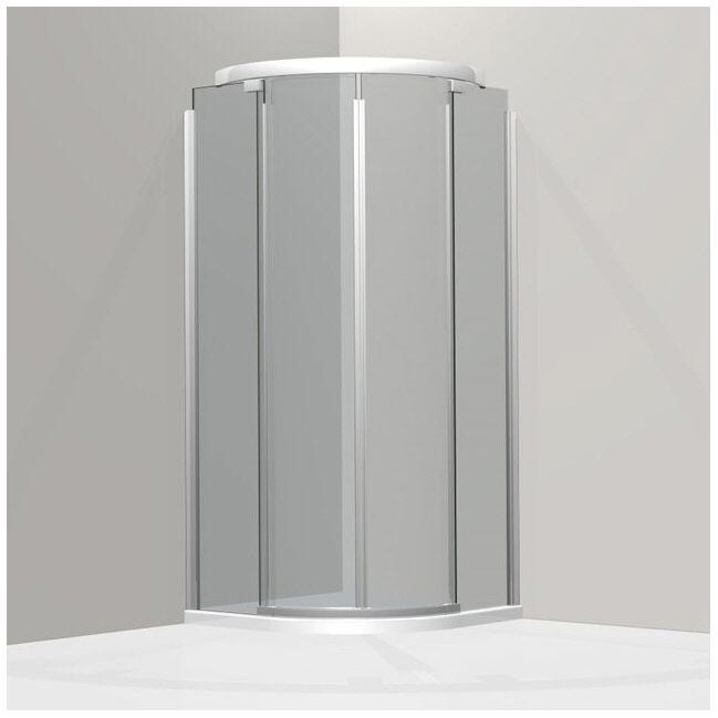 koralle s600 vks2 90 r55 viertelkreis duschabtrennung. Black Bedroom Furniture Sets. Home Design Ideas