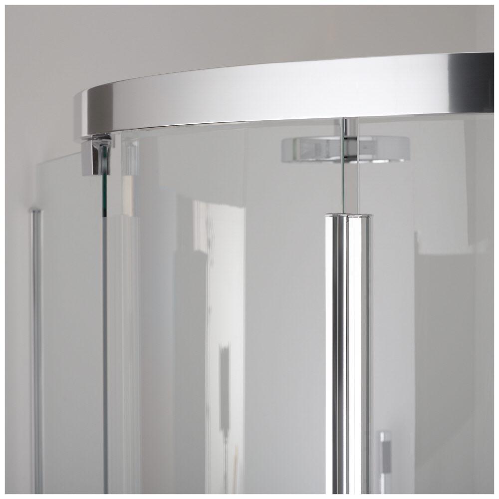 koralle s600 vks2 80 r55 viertelkreis duschabtrennung. Black Bedroom Furniture Sets. Home Design Ideas