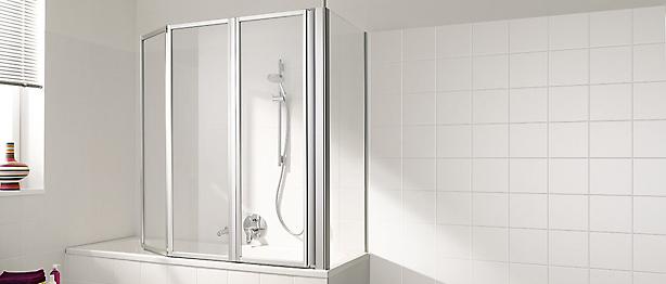 duschfaltwand f r badewanne raum und m beldesign inspiration. Black Bedroom Furniture Sets. Home Design Ideas