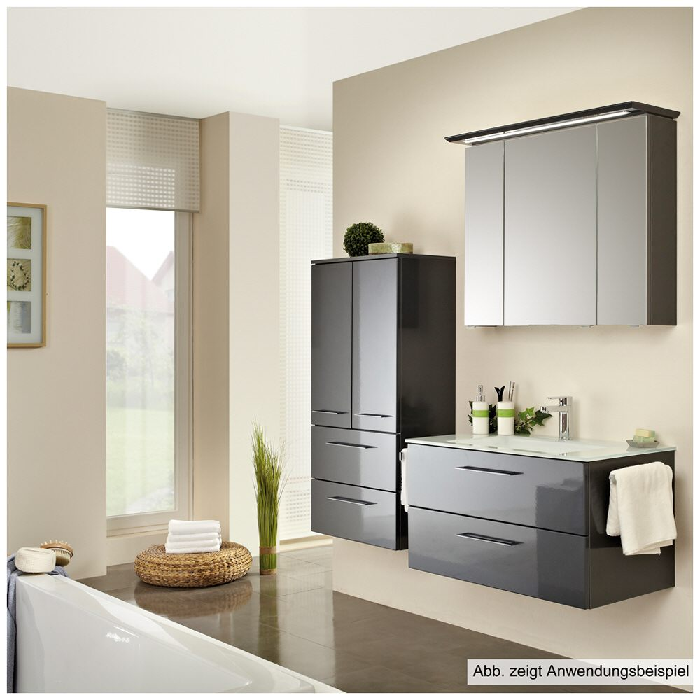 Pelipal sonic spiegelschrank si sps35 405an eb l wp02 - Pelipal sonic ...