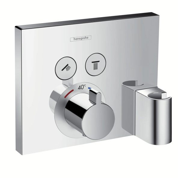 hansgrohe showerselect up thermostat f r 2 verbraucher mit. Black Bedroom Furniture Sets. Home Design Ideas