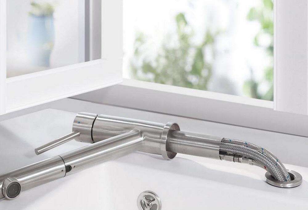 villeroy & boch como window-shower einhand-spültischarmatur - megabad - Küchenarmaturen Villeroy Und Boch