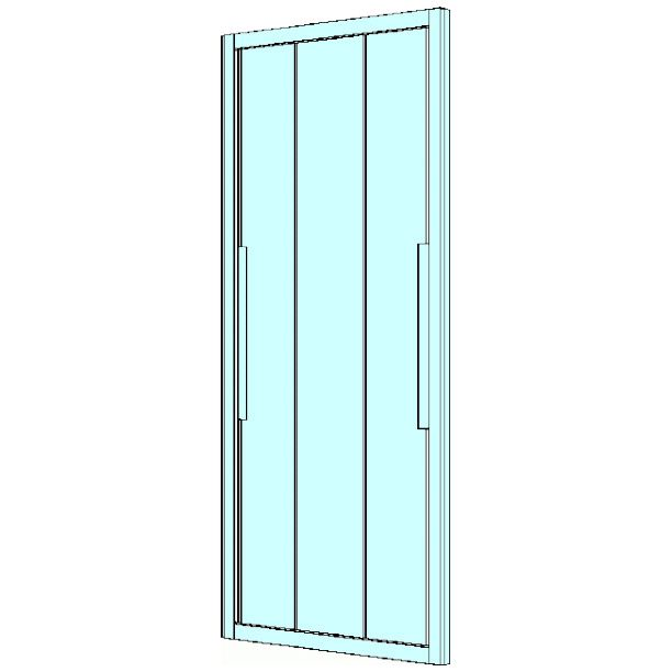 koralle myday schiebet r f r nische 120 cm l67858502524 megabad. Black Bedroom Furniture Sets. Home Design Ideas