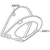 Pressalit Puffer für Deckel Calmo WC-Sitz für Calmo WC-Sitz grau A4030