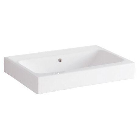 keramag icon waschtisch 75 cm ohne hahnloch 124078000. Black Bedroom Furniture Sets. Home Design Ideas
