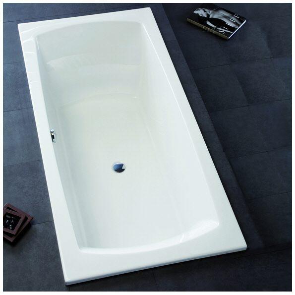 hoesch largo rechteck badewanne 180 x 80 cm megabad. Black Bedroom Furniture Sets. Home Design Ideas