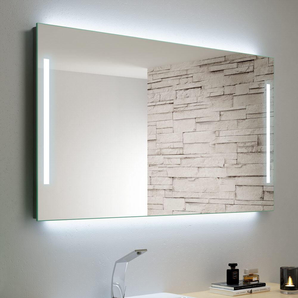 badspiegel led 60x80 bt02 kyushucon. Black Bedroom Furniture Sets. Home Design Ideas