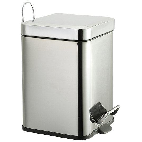 roman dietsche kosmetikeimer 3 liter eckig 639110 megabad. Black Bedroom Furniture Sets. Home Design Ideas