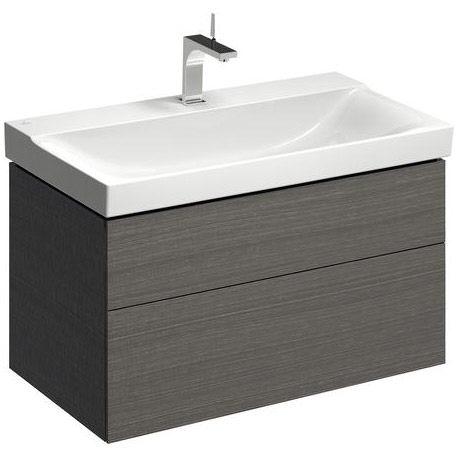 keramag xeno2 waschtischunterschrank 88 cm m 2 schubladen. Black Bedroom Furniture Sets. Home Design Ideas