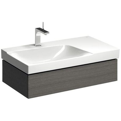 keramag xeno2 waschtischunterschrank 88 cm siphonausschnitt links 807392 megabad. Black Bedroom Furniture Sets. Home Design Ideas