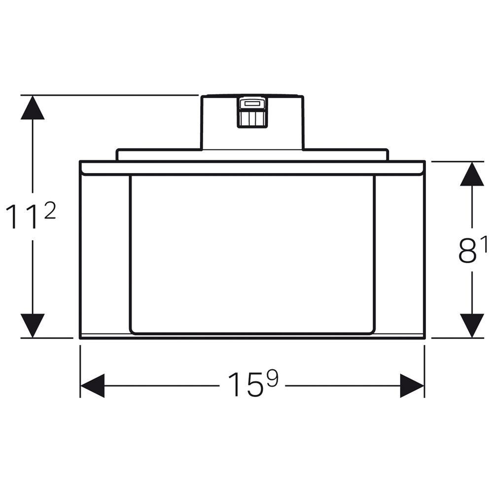 geberit monolith seifenspender zu sanit rmodul f r. Black Bedroom Furniture Sets. Home Design Ideas