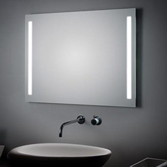 koh i noor spiegel 70 x 100 cm mit seitlichen led streifen megabad. Black Bedroom Furniture Sets. Home Design Ideas