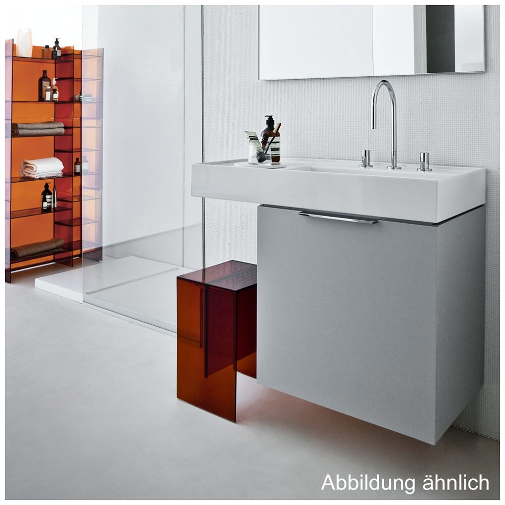 laufen kartell waschtisch 90 x 46 cm mit ablage links und. Black Bedroom Furniture Sets. Home Design Ideas