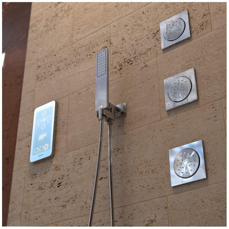 Bossini EIKON 4 Elektronische Thermostat Mischbatterie mit