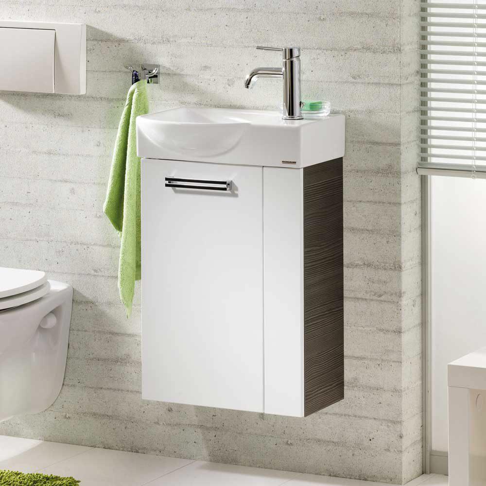 Waschtischunterschrank Gäste Wc fackelmann como gäste wc waschtischunterschrank links 73933 megabad