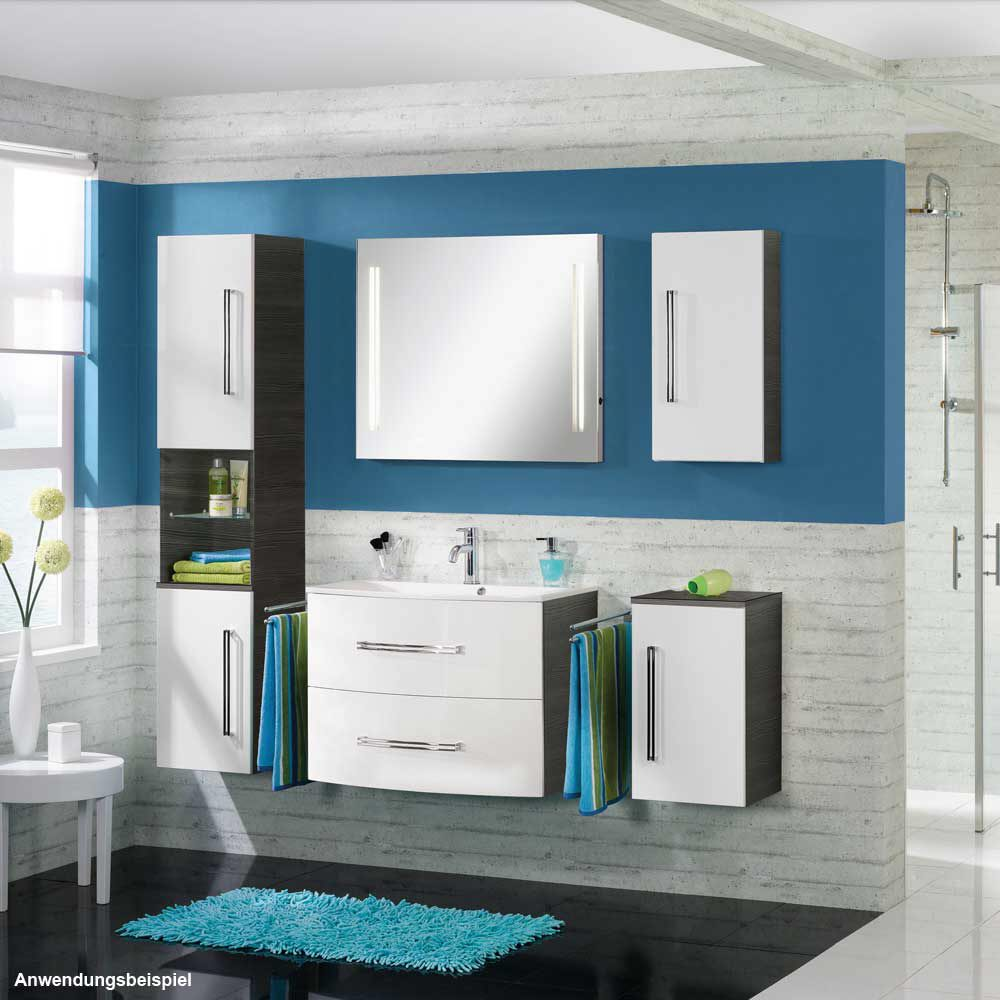 fackelmann lugano waschtischunterschrank 80 cm mit 2 schubladen 73703 megabad. Black Bedroom Furniture Sets. Home Design Ideas