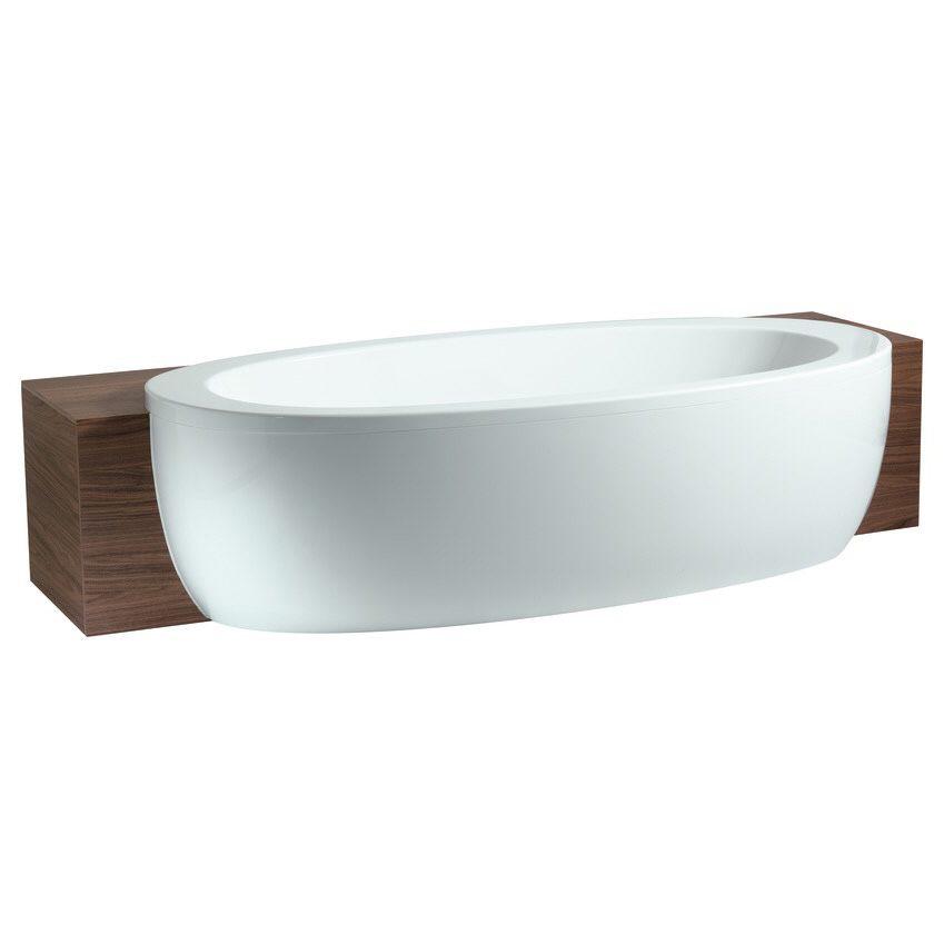 laufen alessi one halbeinbau badewanne mit whirlsystem. Black Bedroom Furniture Sets. Home Design Ideas