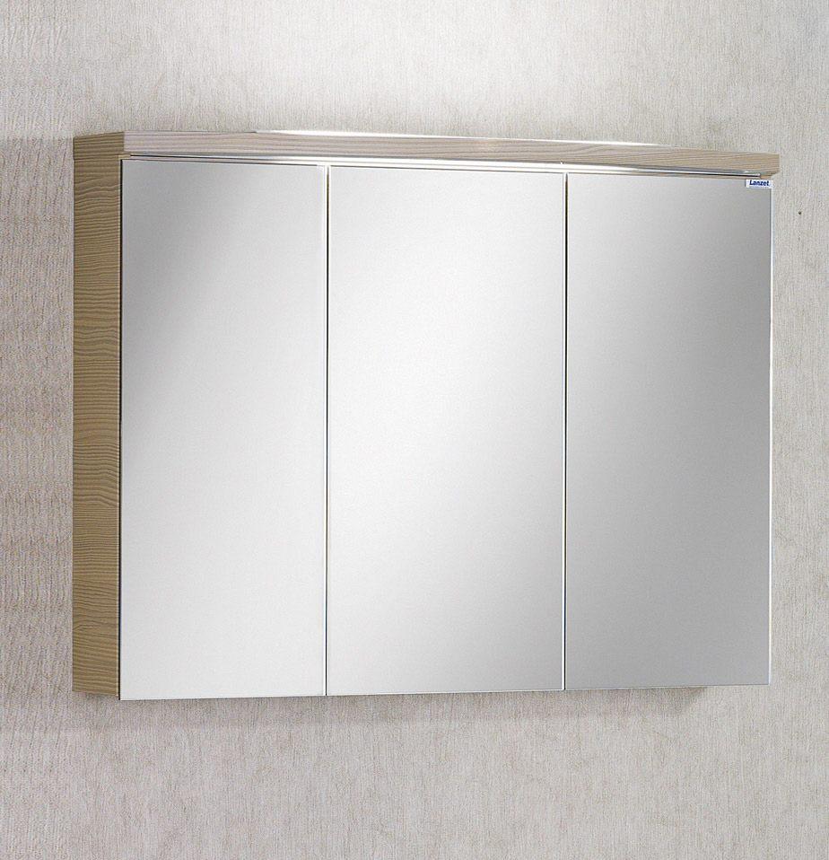 lanzet spiegelschrank 80 cm mit aufbauleuchte l4 7284512. Black Bedroom Furniture Sets. Home Design Ideas