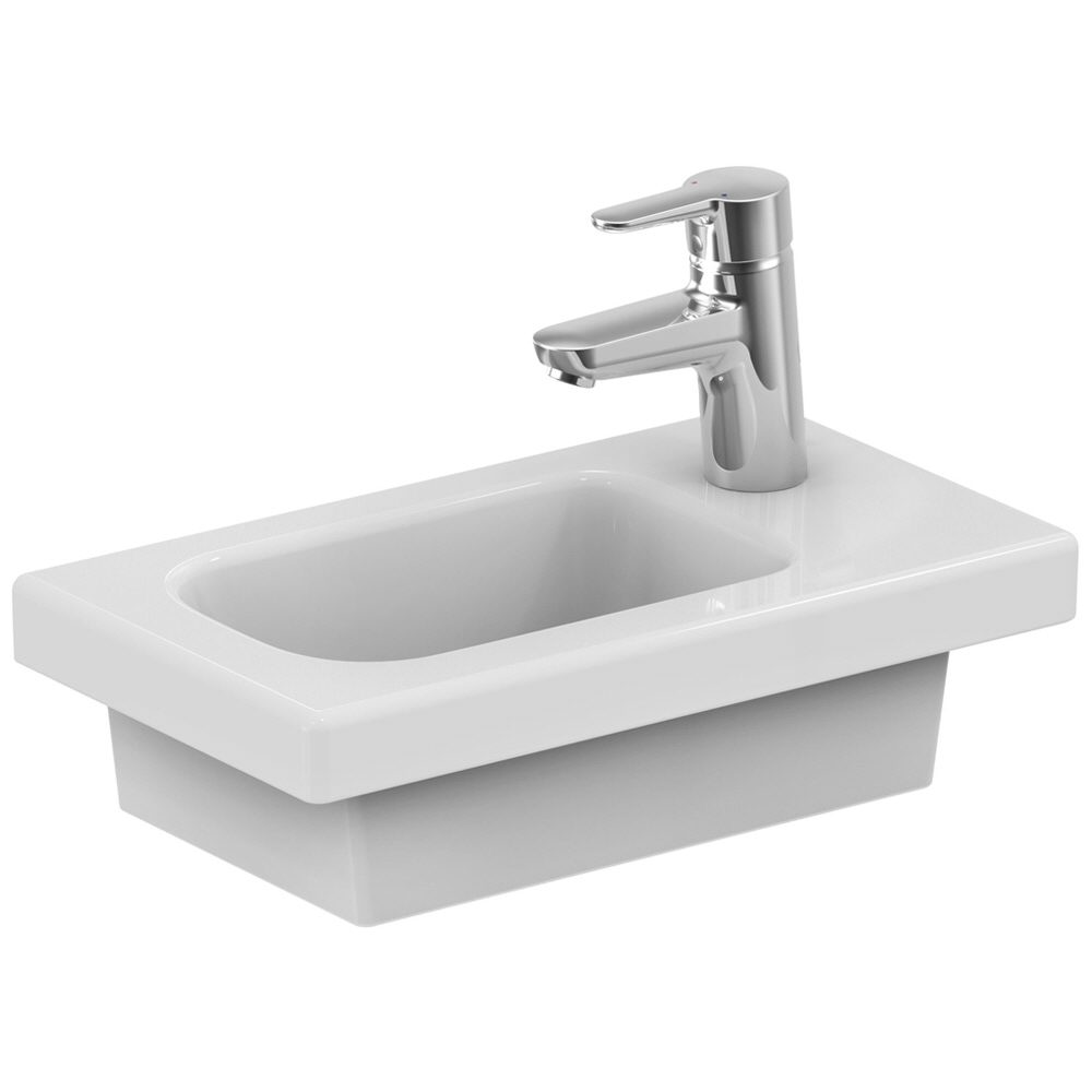 ideal standard connect space handwaschbecken 45 cm ablage. Black Bedroom Furniture Sets. Home Design Ideas