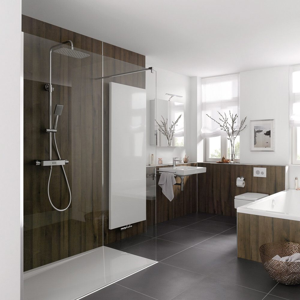hsk walk in pro frontelement 140 cm 1733140 41 50 megabad. Black Bedroom Furniture Sets. Home Design Ideas