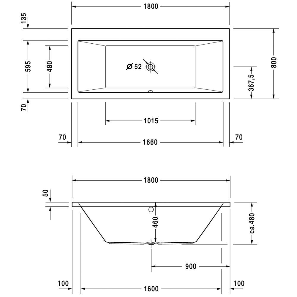 duravit vero badewanne energiemakeovernop. Black Bedroom Furniture Sets. Home Design Ideas