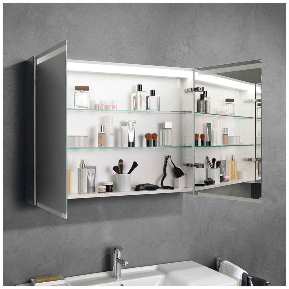 Keramag Option Spiegelschrank LED 90 cm 800390   MEGABAD