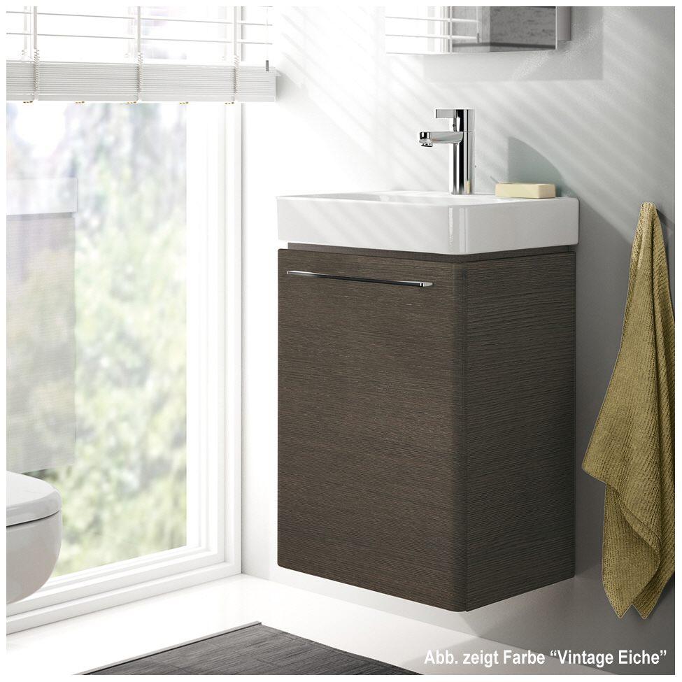 keramag smyle handwaschbecken unterschrank 43 4 cm 805040 megabad. Black Bedroom Furniture Sets. Home Design Ideas