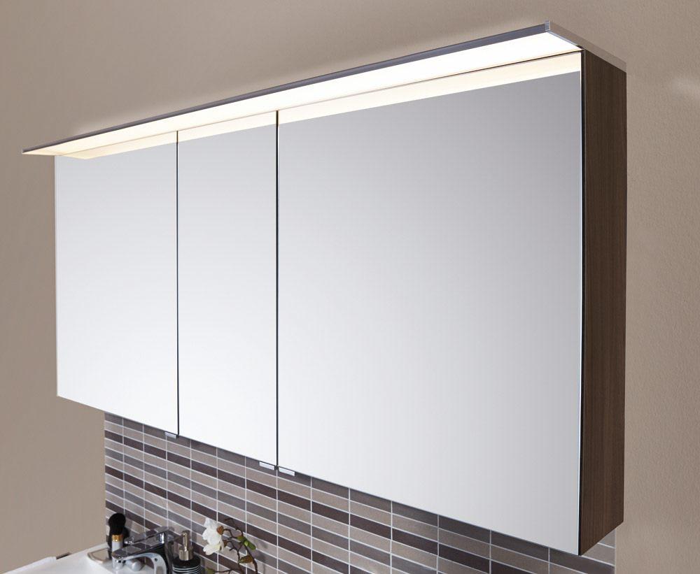Puris star line spiegelschrank 140 x 15 x 66 cm mit led for Amazon spiegelschrank
