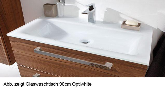 Doppelwaschbecken glas  Puris Star Line Glas Möbel-Doppelwaschtisch 160 cm, mit verdecktem ...