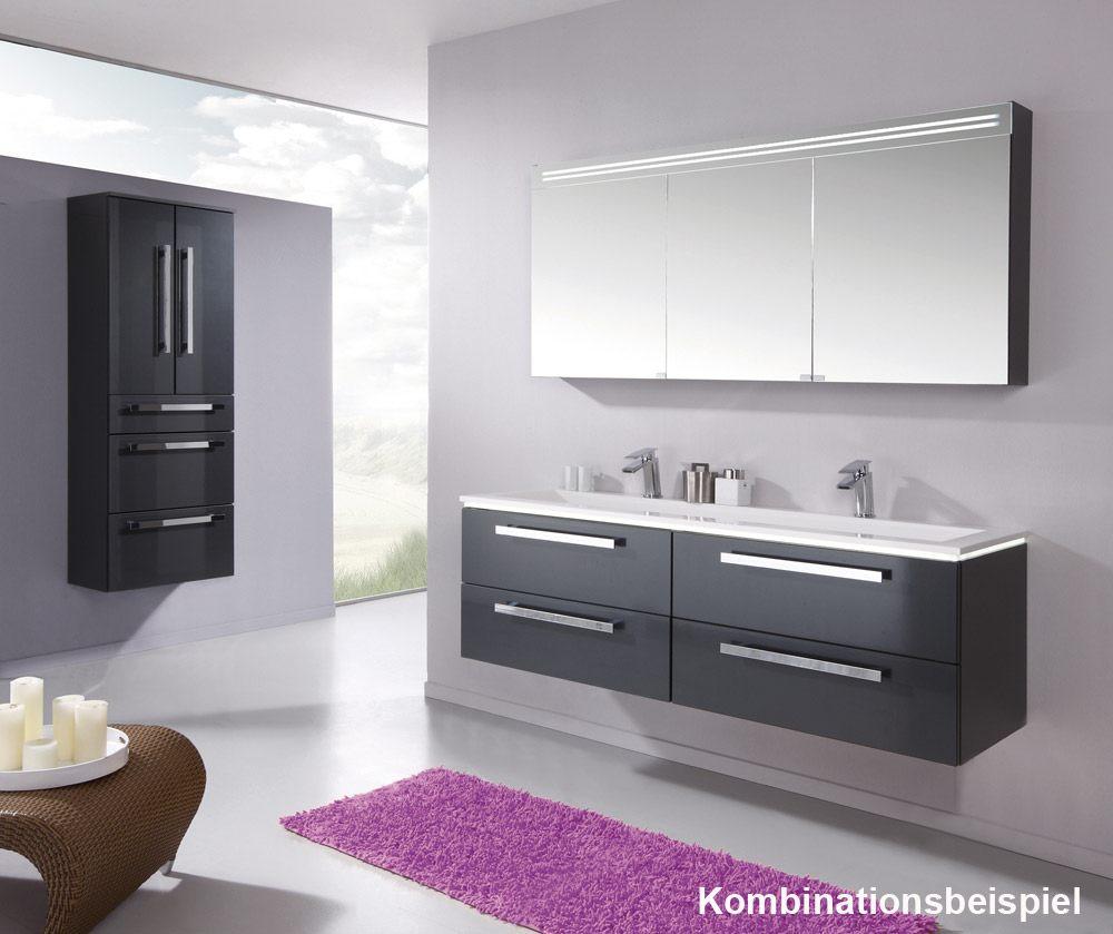 puris star line waschtischunterschrank 160 x 47 x 48 cm mit 4 ausz gen wua33167f722k16129432. Black Bedroom Furniture Sets. Home Design Ideas