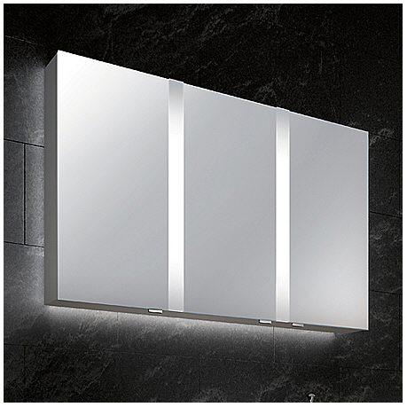Sprinz Spiegelschrank Elegant Line 130 x 70 cm Einbauverison ...