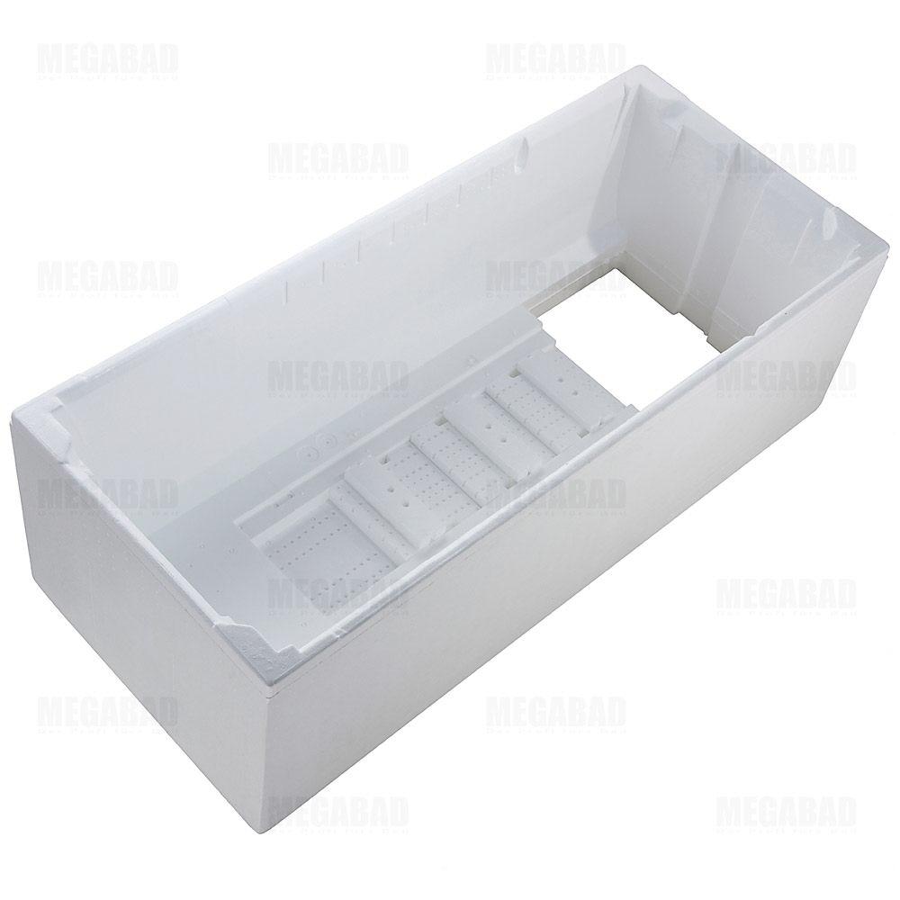 poresta systems wannentr ger f r hoesch capri badewanne 150 x 70 cm megabad. Black Bedroom Furniture Sets. Home Design Ideas