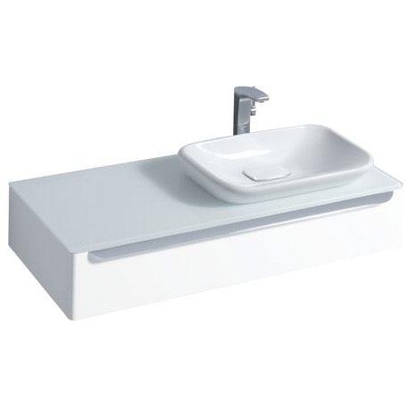 keramag myday waschtischunterschrank 115 cm hahnloch rechts 814160 megabad. Black Bedroom Furniture Sets. Home Design Ideas
