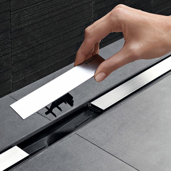 geberit cleanline 20 duschrinne 90 cm megabad. Black Bedroom Furniture Sets. Home Design Ideas