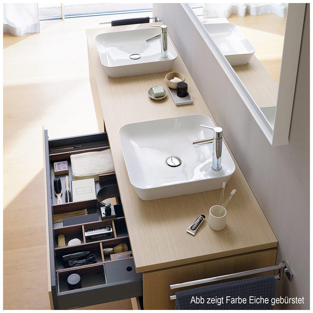 duravit l cube konsole 180 x 48 cm f r aufsatzbecken und einbauwaschtische lc095c02222 180cm. Black Bedroom Furniture Sets. Home Design Ideas