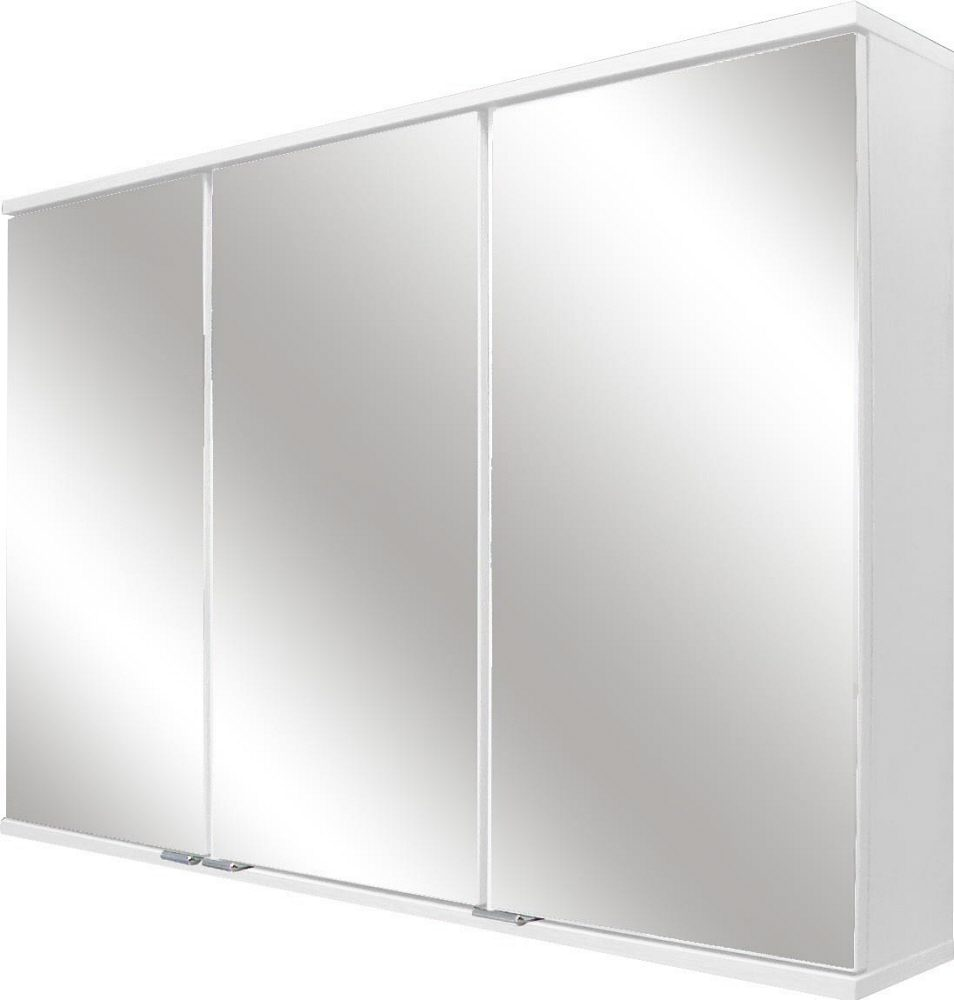 fackelmann rondo spiegelschrank 100 5 x 68 cm mit led beleuchtung 73393 megabad. Black Bedroom Furniture Sets. Home Design Ideas