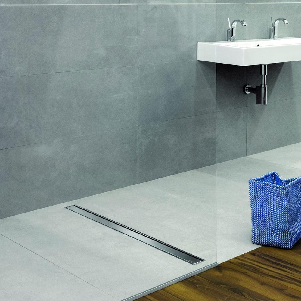 kessel linearis compact komplett duschrinne 45 cm megabad. Black Bedroom Furniture Sets. Home Design Ideas