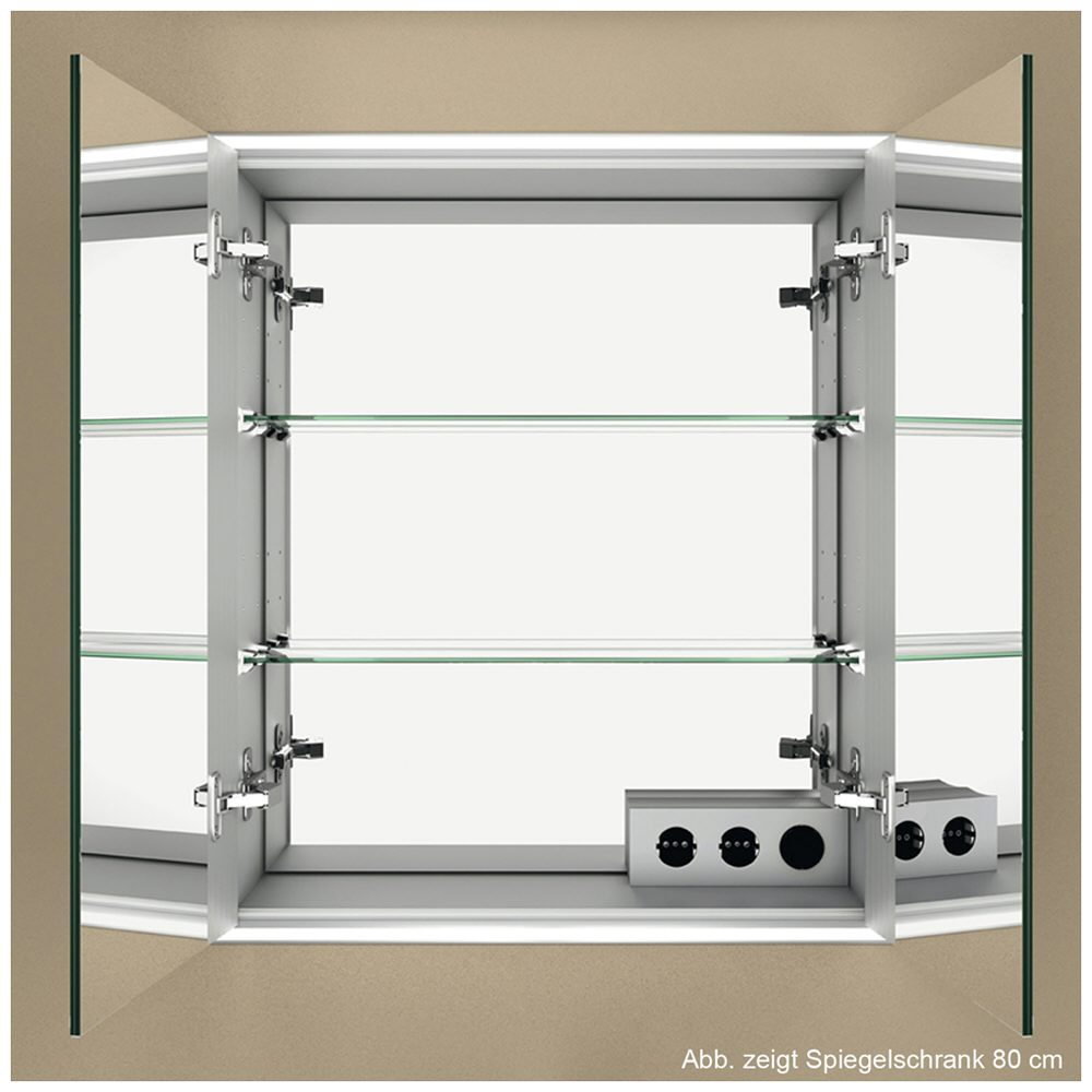 Sprinz classical line spiegelschrank 120 x 70 cm for Spiegel zum aufkleben