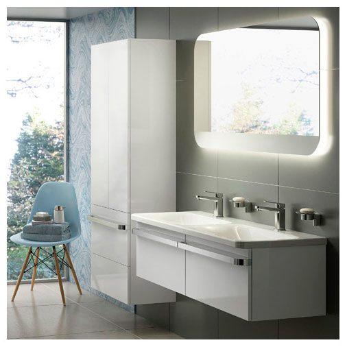 ideal standard tonic ii m bel doppelwaschtisch 121 5 cm k087001 megabad. Black Bedroom Furniture Sets. Home Design Ideas