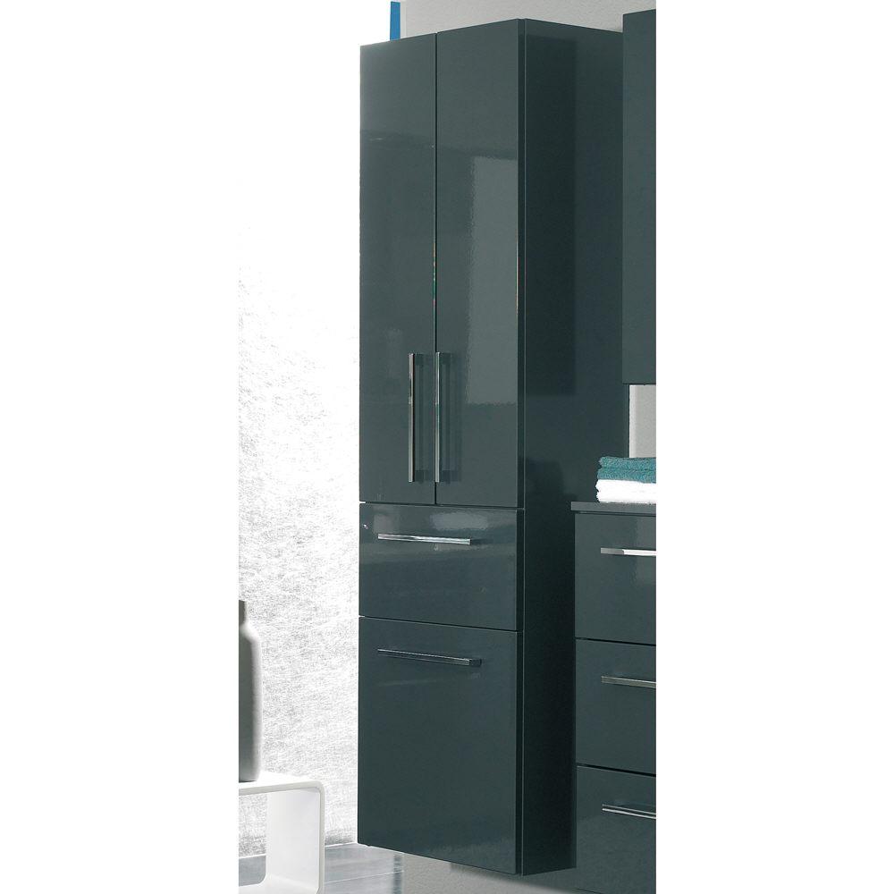 Bad hochschrank mit wschekippe latest badezimmer for Klebefolie badezimmer